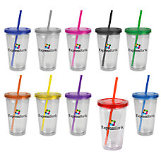 Full Color Tumbler 16 Oz Assorted