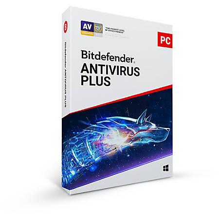 Bitdefender Antivirus Plus 2019 1 Users 1 Year