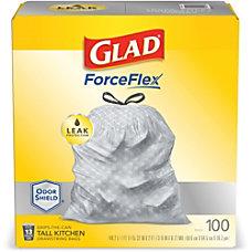 Glad ForceFlex Tall Kitchen Trash Bags