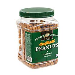 Superior Nut Nuts Honey Roasted Peanuts