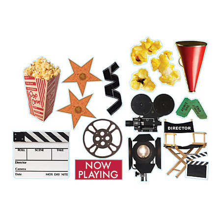 Eureka 2-Sided Decorations, Movie Theme, Multicolor, Pre-K To Grade 12, Pack Of 15