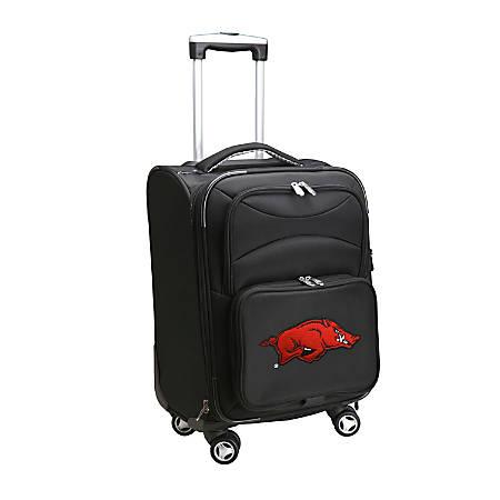 "Denco Sports Luggage L202 Upright 8-Wheel Spinner Carry-On, 20""H x 14""W x 9""D, Arkansas, Black"