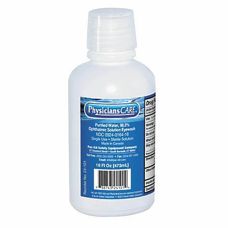 Eye Flush Bottles, 16 oz