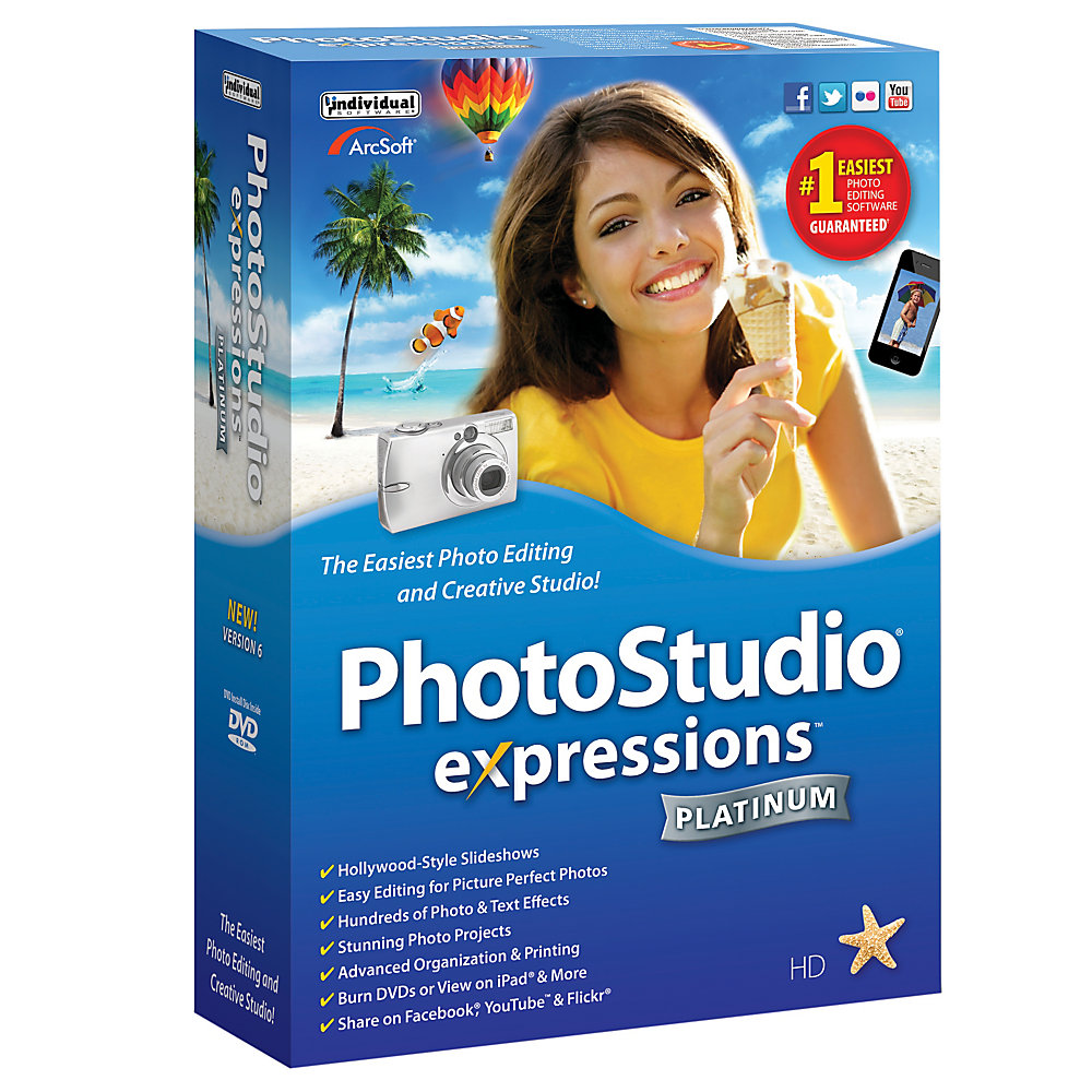 Photo Expressions Platinum 6, Traditional Disc