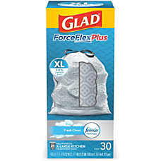 Glad ForceFlex KitchenPro Drawstring Bags Large