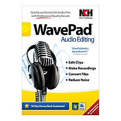 Wavepad 5 Audio Editor For PCMac