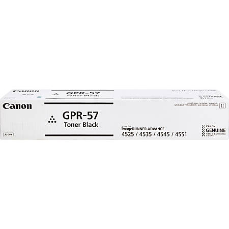 Canon GPR-57 High-Yield Black Toner Cartridge