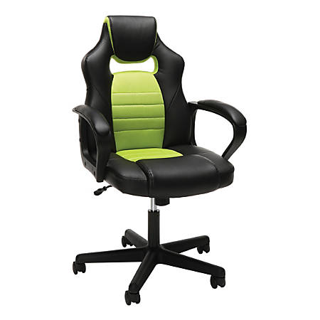 Essentials By Ofm Racing Style Mid Back Gaming Chair