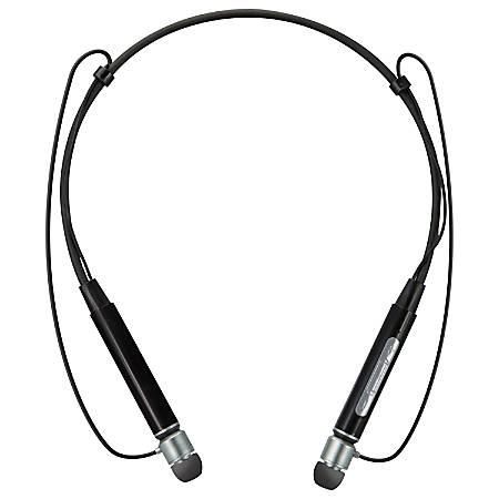 iLive Bluetooth® Stereo Headset With Neckband, Mic, Black, IAEP48B