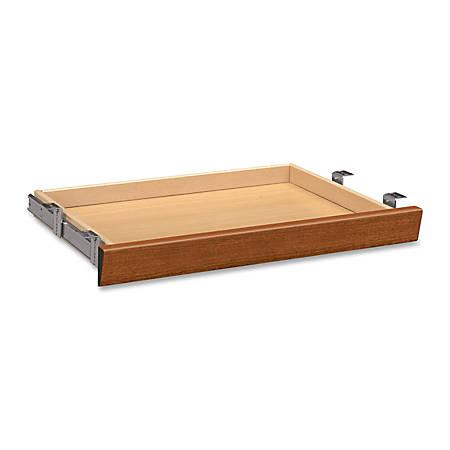 HON® Valido™ Angled Wood Center Drawer, Bourbon Cherry