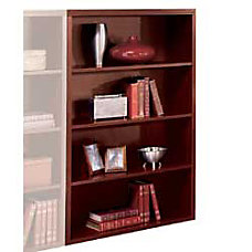 HON Valido 3 Shelf Bookcase Mahogany