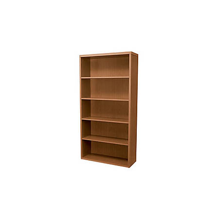 HON® Valido™ 5-Shelf Bookcase, Bourbon Cherry
