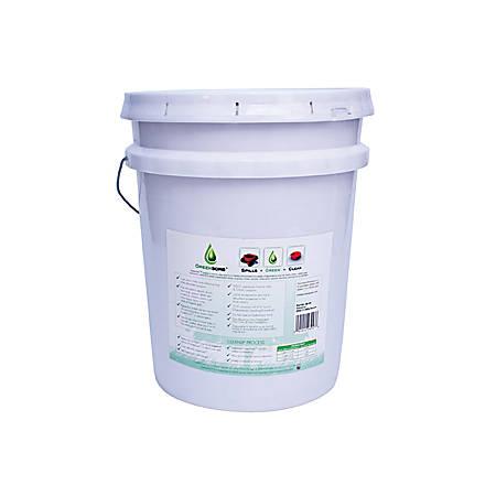 GreenSorb Eco-Friendly Sorbent, Clay, 25 lbs. Bucket