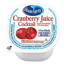 Ocean Spray Cranberry Juice 4 Oz