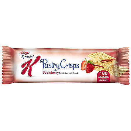 Special K® Pastry Crisps, 0.88 Oz., Strawberry, Box Of 9