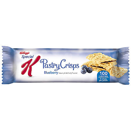 Special K® Pastry Crisps, 0.88 Oz., Blueberry, Box Of 9