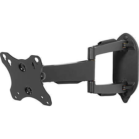 Peerless Articulating LCD Wall Arm - Anodized Aluminum, Steel - 25 lb