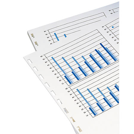GBC® Prepunched Paper For Comb Binding, 19-Hole Punched On Left, 20 Lb, Ream Of 500 Sheets