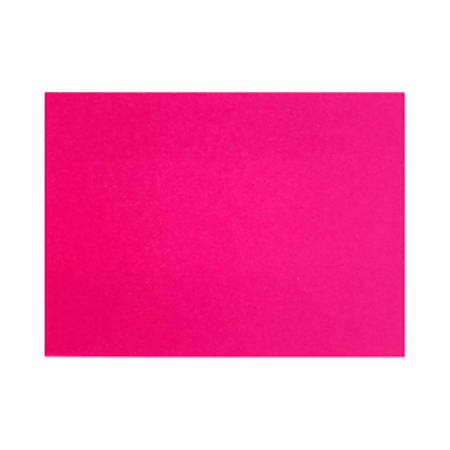 "LUX Flat Cards, A6, 4 5/8"" x 6 1/4"", Hottie Pink, Pack Of 50"