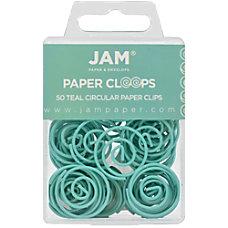 JAM Paper Circular Paper Clips 1