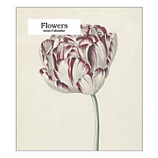 Retrospect Flowers Monthly Desk Calendar 6