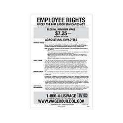 ComplyRight Federal Specialty Posters English Agricultural