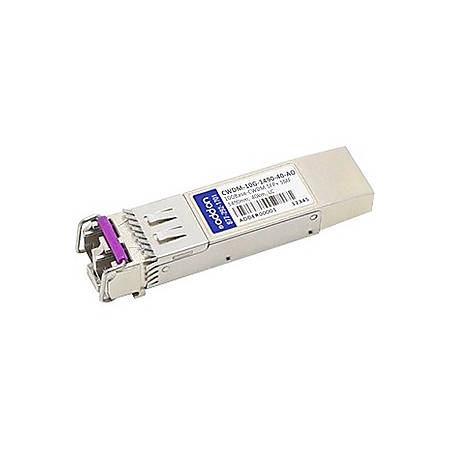 AddOn Cisco CWDM-10G-1490-40 Compatible TAA Compliant 10GBase-CWDM SFP+ Transceiver (SMF, 1490nm, 40km, LC) - 100% compatible and guaranteed to work