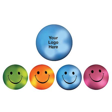 "Mood Smiley Face Stress Ball, 2 1/2""D"