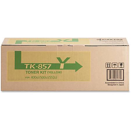 Kyocera Original Toner Cartridge - Laser - High Yield - 18000 Pages - Yellow - 1 Each