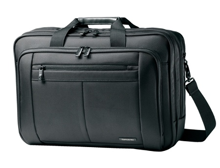 Samsonite Clic 43270 1041 Carrying Case Briefcase For 17 Notebook Black By Office Depot Officemax