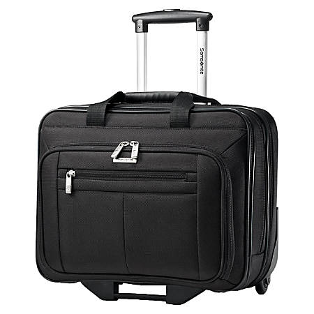 """Samsonite Classic 43876-1041 Carrying Case (Roller) for 15.6"""" Notebook - Black"""