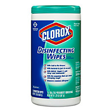 Clorox Disinfecting Wipes Fresh Scent Pack