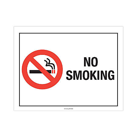 """ComplyRight Federal Specialty Posters, English, No Smoking , 8 1/2"""" x 11"""""""