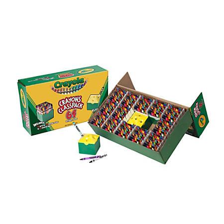 Crayola® Classpack® Regular Crayons, Assorted Colors, Box Of 832