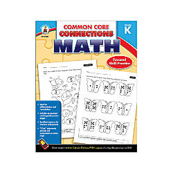Carson Dellosa Common Core Connections Math
