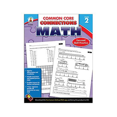 Carson-Dellosa Common Core Connections Math, Grade 2