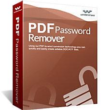 Wondershare PDF Password Remover Download Version