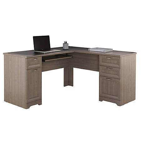 Reale Magellan L Shaped Desk Gray