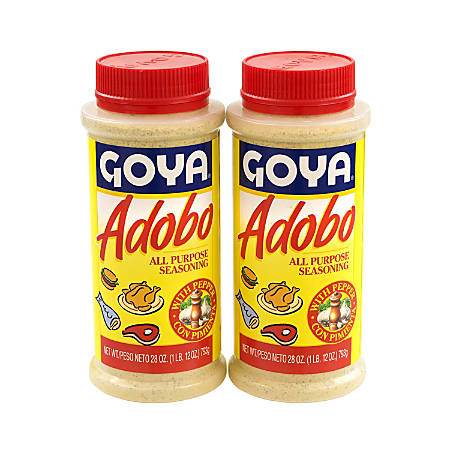 Goya Adobo Seasoning, 28 Oz Tub, Pack Of 2