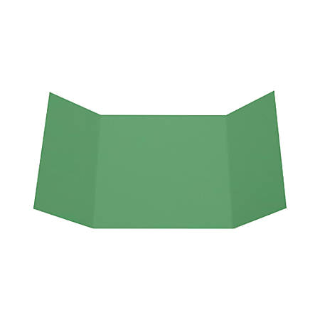 """LUX Gatefold Invitation Envelopes, 6 1/4"""" x 6 1/4"""", Holiday Green, Pack Of 100"""