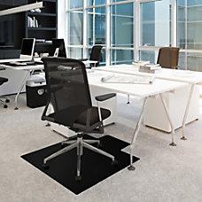 Cleartex Advantagemat Black Chair Mat Office