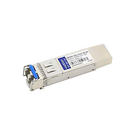 AddOn Cisco CWDM-10G-1510-40 Compatible TAA Compliant 10GBase-CWDM SFP+ Transceiver (SMF, 1510nm, 40km, LC)