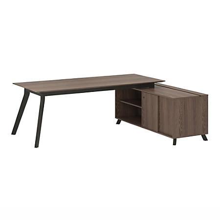 Ameriwood™ Home AX1 5-Piece Executive Office Set, Medium Brown