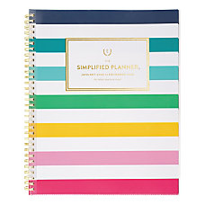 Emily Ley Simplified Happy Stripe Customizable