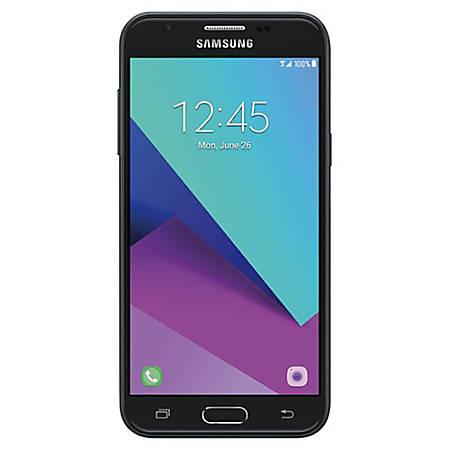 Samsung Galaxy J3 2017 / Express Prime 2 Cell Phone, Dark Gray, PSN101046