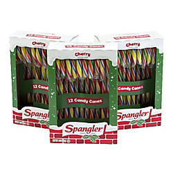 Spangler Cherry Candy Canes Box Of