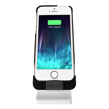 Patriot Memory FUEL iON Kit: iPhone® 5/5s Case with Charging Stand