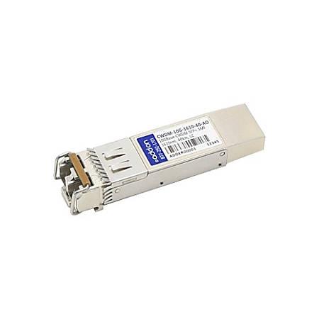 AddOn Cisco CWDM-10G-1610-40 Compatible TAA Compliant 10GBase-CWDM SFP+ Transceiver (SMF, 1610nm, 40km, LC)