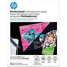 HP Inkjet Print BrochureFlyer Paper Letter