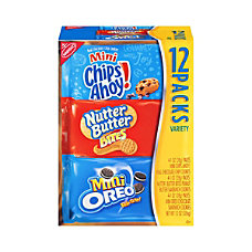 Nabisco Cookie Mini Variety Pack 1